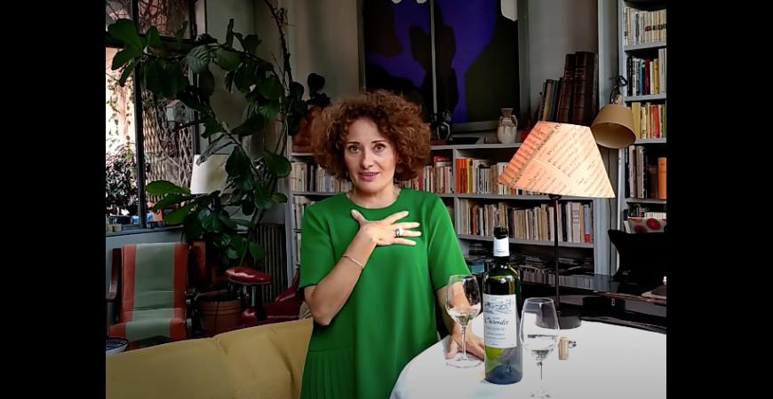 Florence Corbalan, la sommelière lyrique, a dégusté Terres Blanches